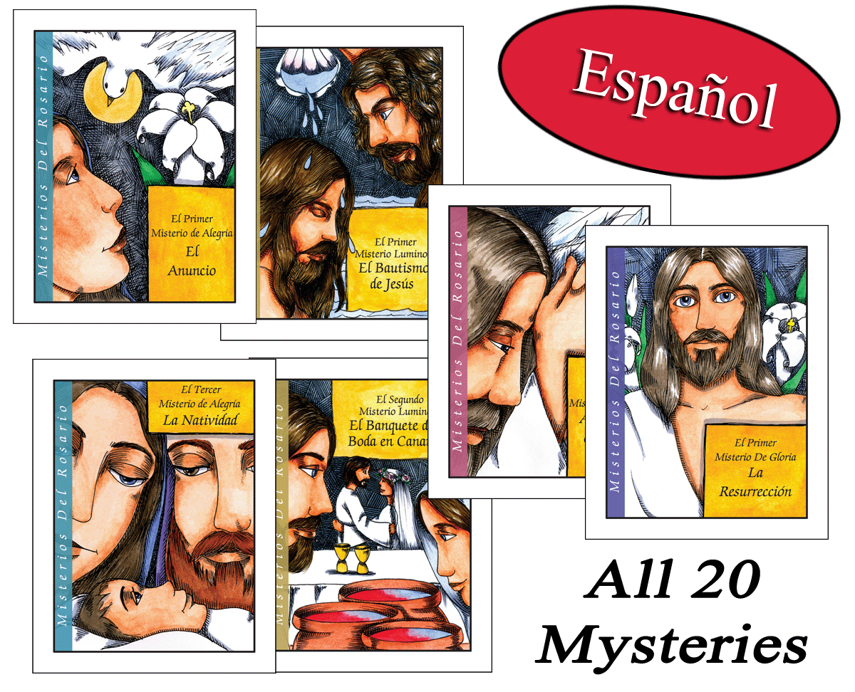 Spanish - Teen Mysteries of the Rosary