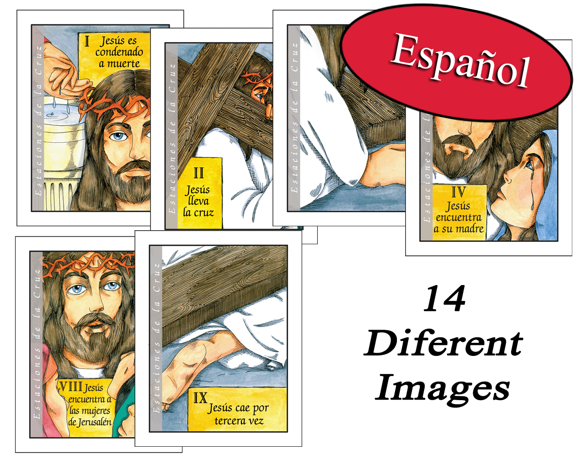 Spanish - Teen Stations of the Cross