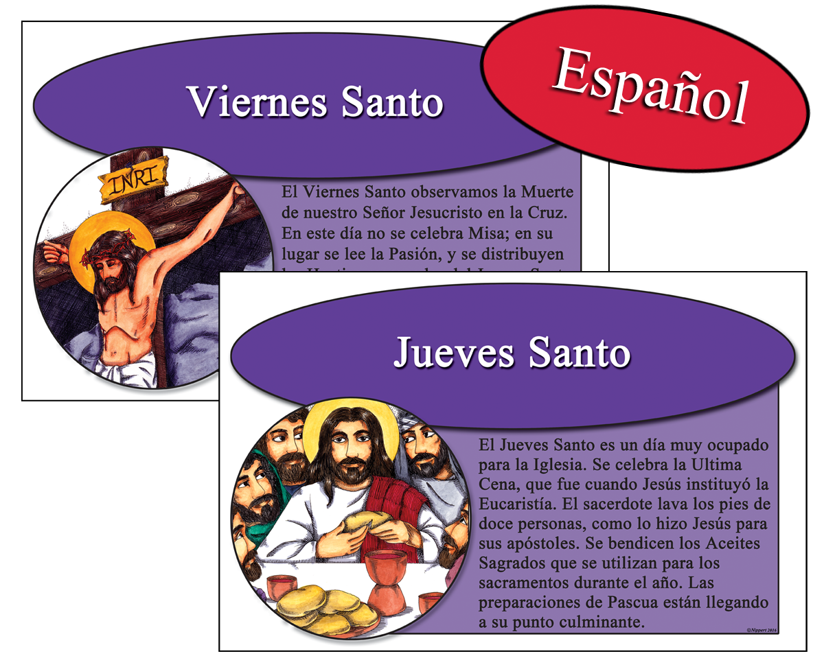 Spanish Faithwords Holy Week