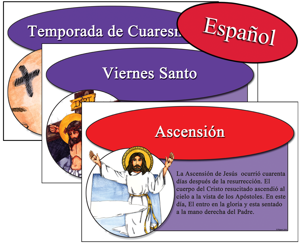 Spanish Faithwords Easter Combo