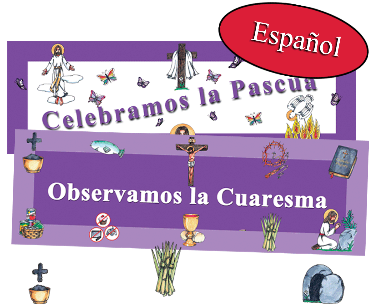 Spanish Lent Easter Banner