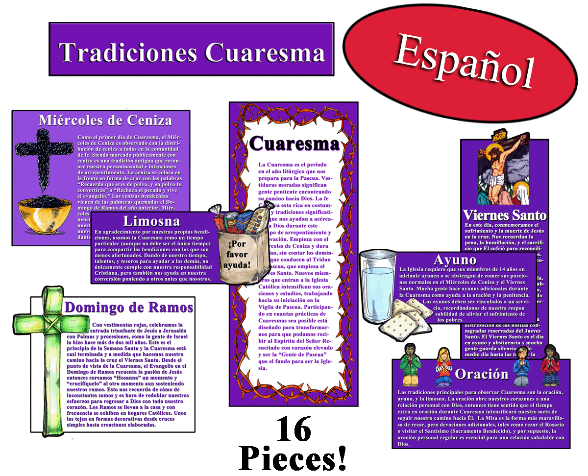 Spanish - Catholic Explorations Lent Traditions