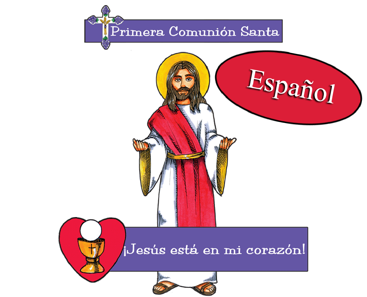 Spanish - First Communion Cutouts