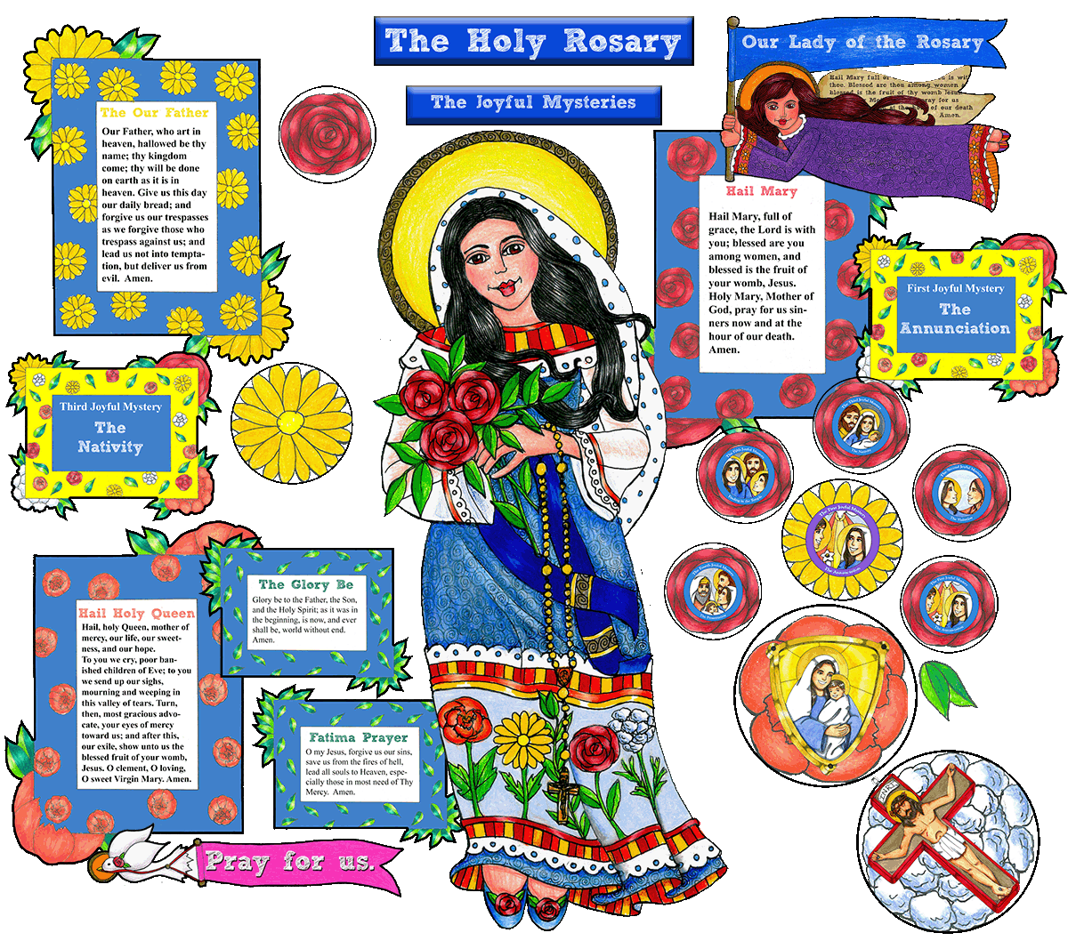 Boho Our Lady of the Rosary