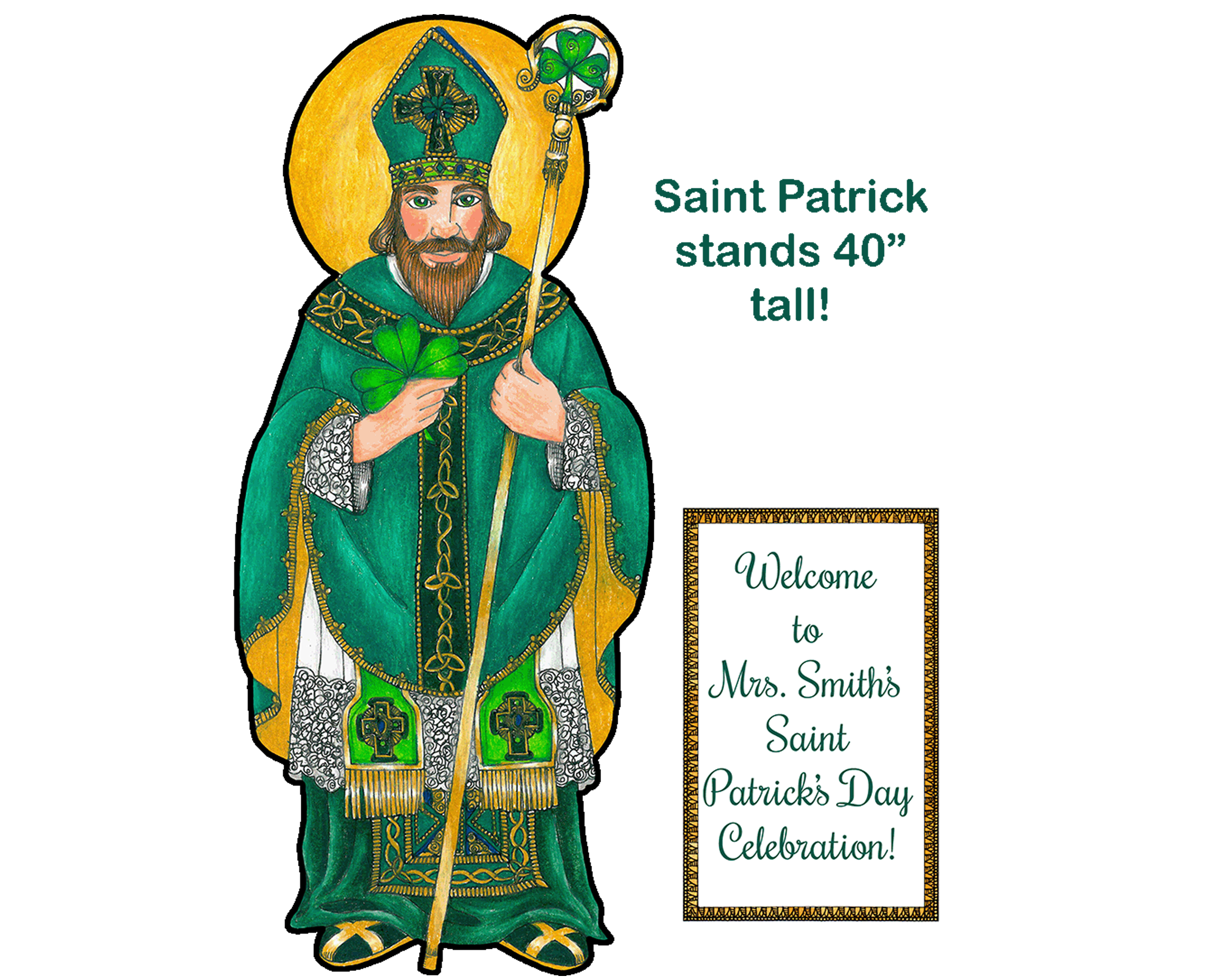 Holy Giant Saint Patrick
