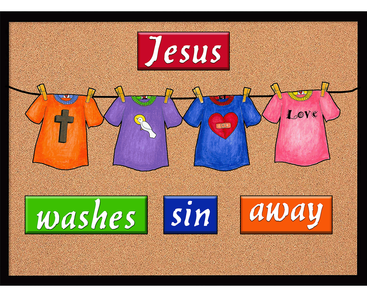 Jesus Washes away Sin