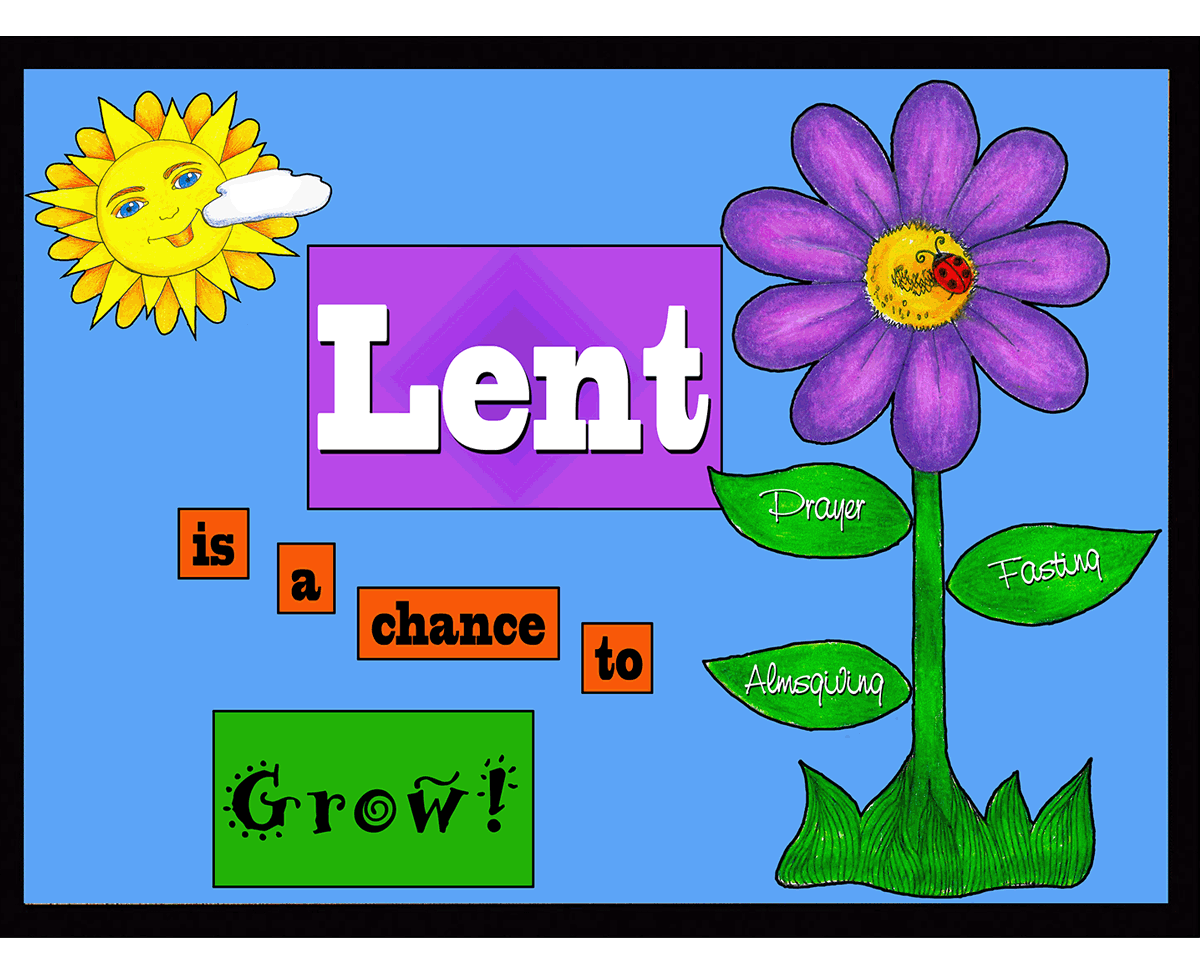 Holy Sparks Lent Is A Chance To Grow Llco246