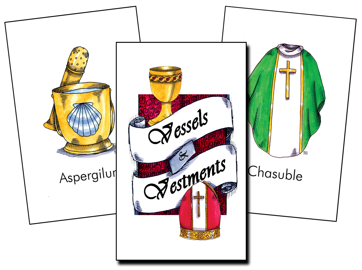 Vessels & Vestments Flashcards