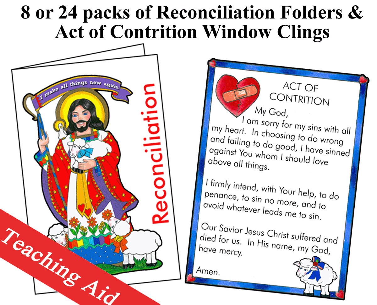 Teaching Aid - Reconciliation Folder